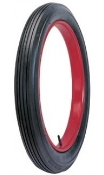 "28x3 (for 22"" rim) Universal Clincher Ribbed Tread Blackwall"