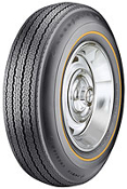 "775x15 Goodyear Power Cushion Goldline.350""G/S '65/'66 only"