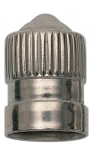 Nickel Dome Valve Cap