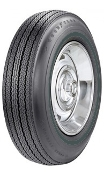 775-15 Goodyear Power Cushion BW '67 only