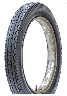 33x4-1/2 (500x24) LUCAS Old Dunlop Tread Blackwall