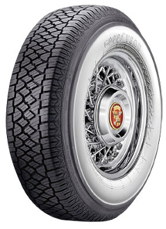 pr goodyear  whitewall