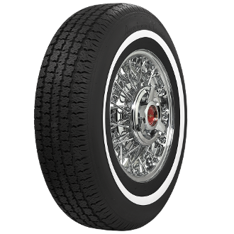 "More Views Description Popular replacement tire for mid-70's American cars Made in USA! Details/Options SKU U700210 Construction Tubeless Poly/Steel Load Capacity 1742 @ 35 psi Overall Diameter 27.60"" Tread Width 6.52"""