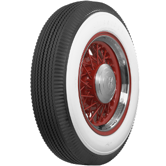 "650-16 Firestone 4"" Whitewall"