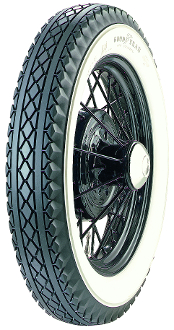 "475-19 Goodyear All Weather 2-7/8"" Whitewall"
