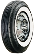 "670-15 Goodyear Custom Super Cushion 2-1/4"" Whitewall"