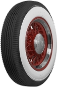 "600/650-17 Firestone 4"" Whitewall"