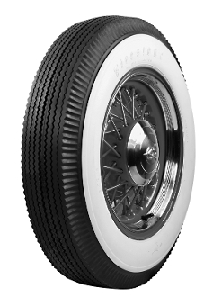 "650-20 Firestone Poly 3-3/4"" Whitewall"