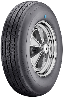 775-15 Goodyear Power Cushion Blue Dot '65/'66 Shelby only
