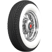 "650-18 Firestone 3-1/2"" Whitewall"