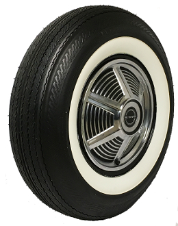 "750-14 General Dual 90 2-1/4"" Whitewall"