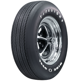 FR70-14 Firestone Wide Oval Radial RWL