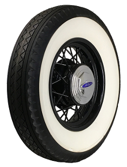 "700-18 Bedford 4-1/4"" Double Whitewall"