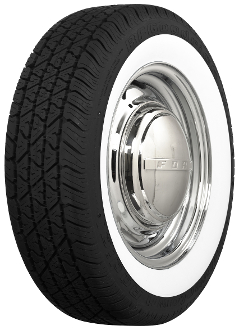 "185/70R14 BF Goodrich 2-1/4"" Whitewall"